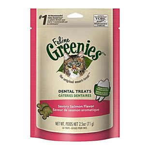Feline-Greenies-Dental-treat-Savory-Salmon