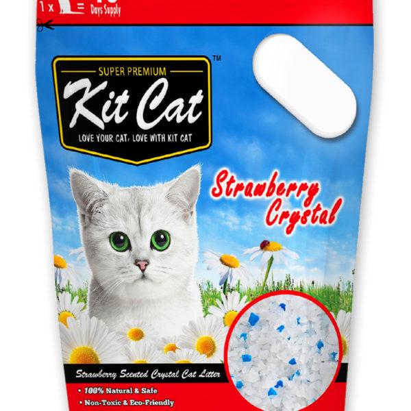 KIT CAT STRAWBERRY CRYSTAL- Đo