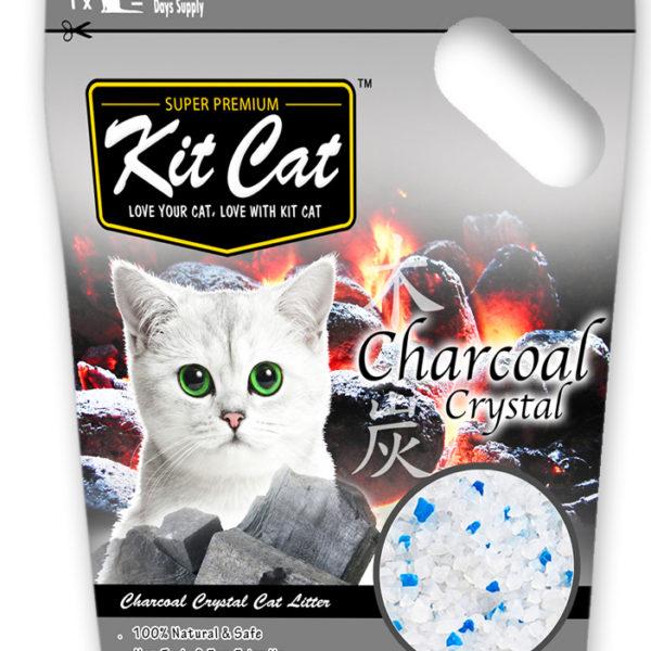 KITCAT CHARCOAL CRYSTAL - Xám