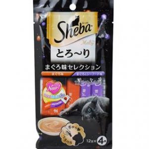 Sheba Creamy tuna & seafood ( 4sachets x12g )
