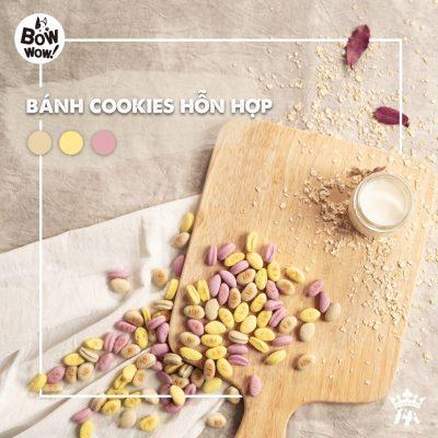 Bánh Cookies Bowwow hỗn hợp