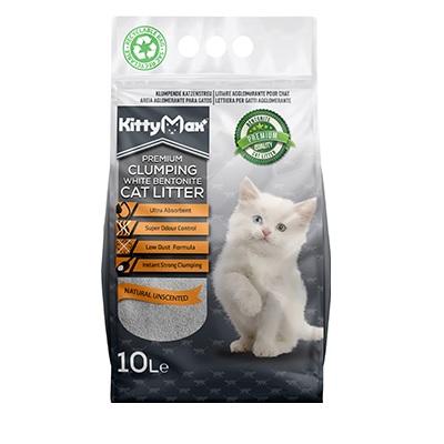 Kitty Max cat litter clumping – Cát vệ sinh mèo bentonite vón cục 10L