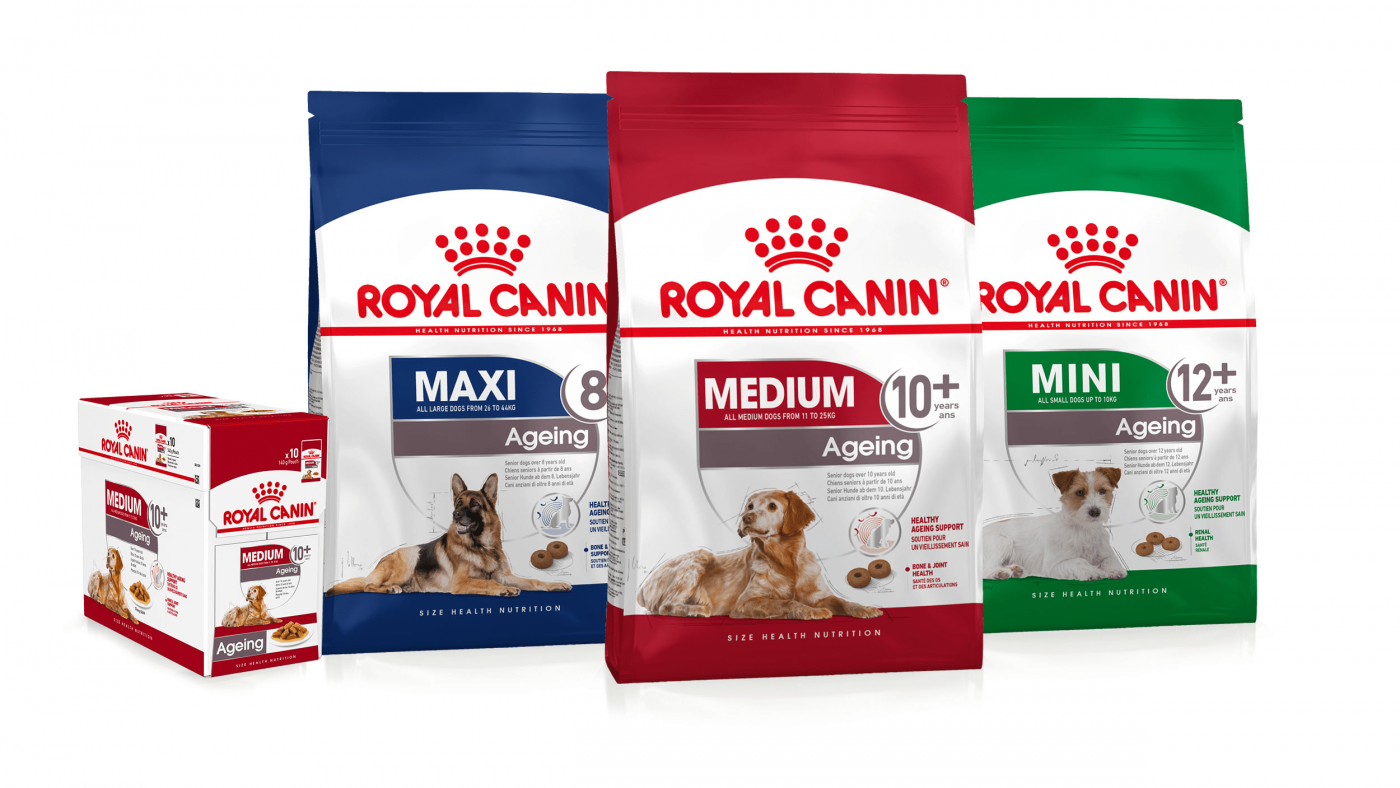 Các dòng thức ăn khô, thức ăn ướt Royal Canin cho chó con