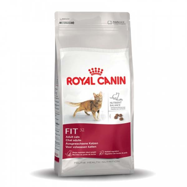 Image result for Royal Canin Fit 32 / Cho mèo thả vườn, yêu vận động